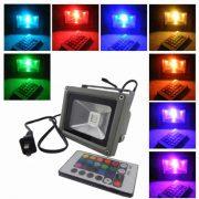 Színválasztós 10 W LED reflektor