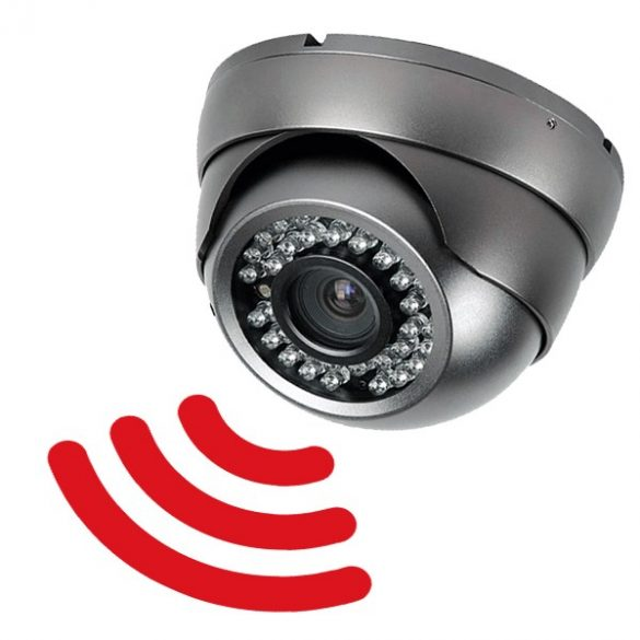 SD kártyára rögzítő biztonsági kamera