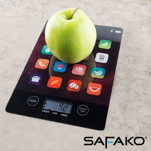 Safako digitális prémium konyhai mérleg