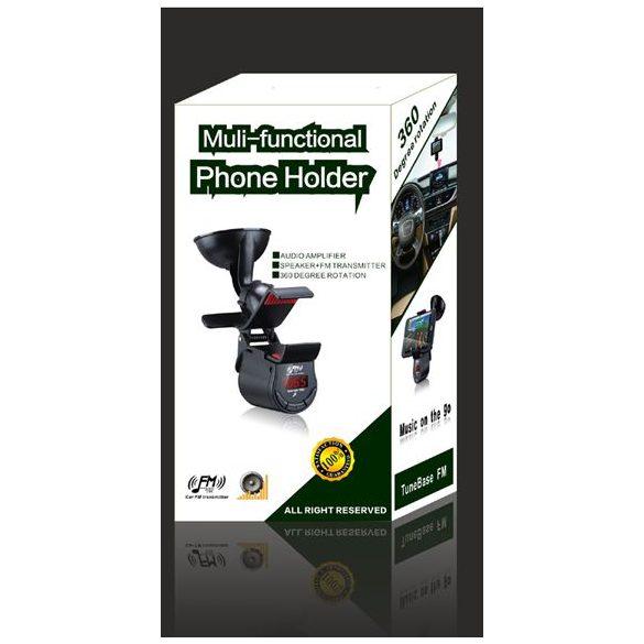 Multifunkciós kihangosító és telefontartó