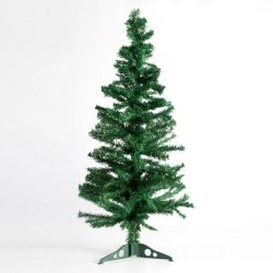 Karácsonyfa, műfenyő 120 cm-es 180 ággal