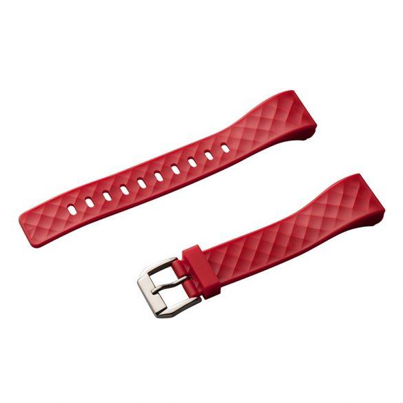 Szíj - Safako SB4010 okoskarkötőhöz (Piros színben)