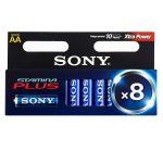 AA Sony ceruzaelem (8 db-os csomag)