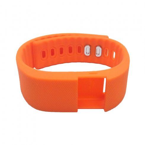 Szíj - Safako SB510 okoskarkötőhöz, narancssárga színben