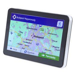 7 colos GPS navigáció Európa térképpel (magyar menüvel)