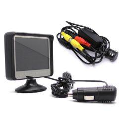"""Vezeték nélküli színes tolatókamera 3,5"""" monitorral"""
