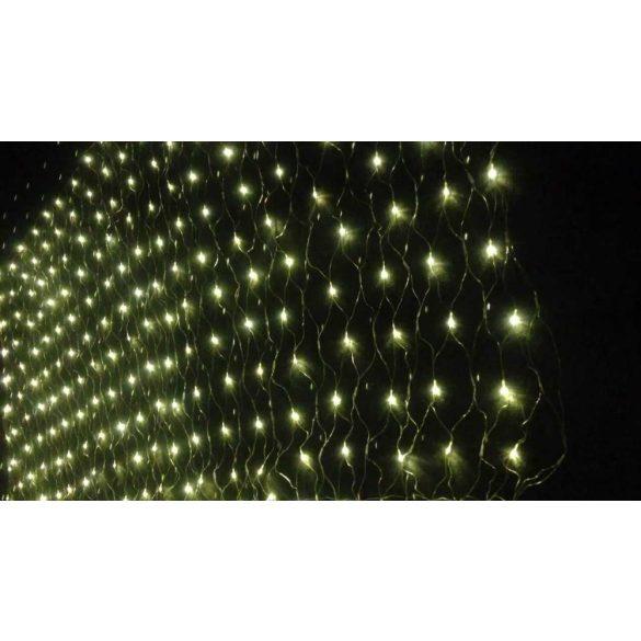 Safako SF128 LED fényháló (2X1 m) - meleg fehér