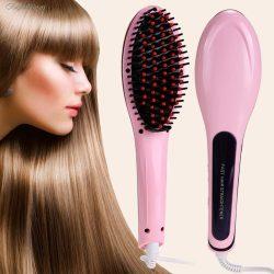 Elektromos hajegyenesítő kefe