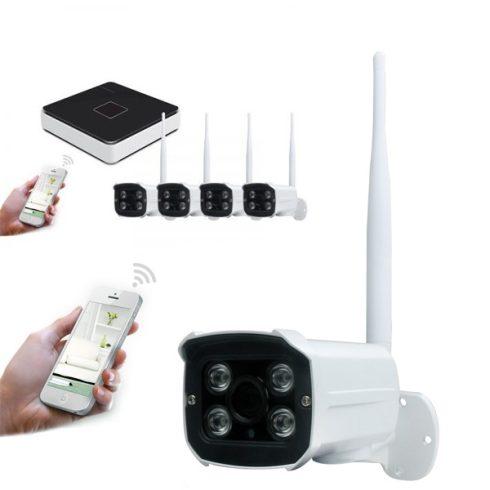 4 kamerás wifi-s megfigyelőrendszer