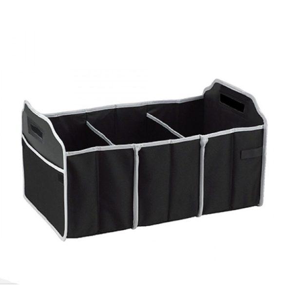 Többrekeszes tároló csomagtartóba, hőtartó rekesszel