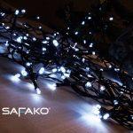 Safako SF400 fényfüzér 400 LED / 40 méter / hideg fehér