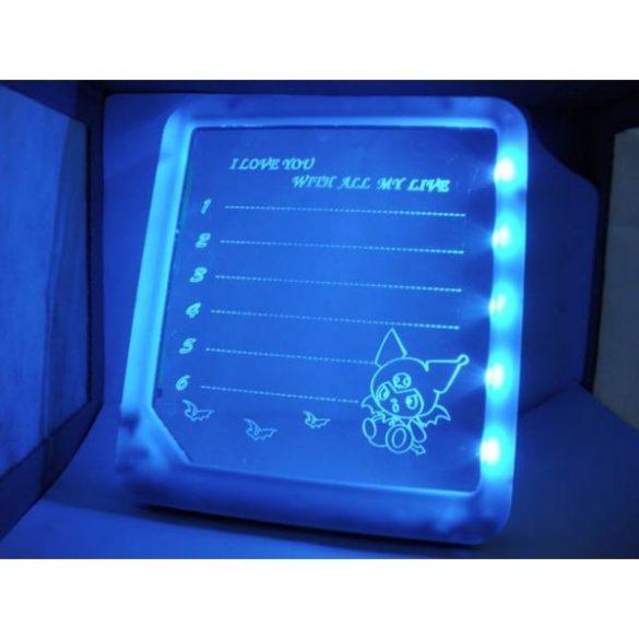 LED-es világító tábla + toll
