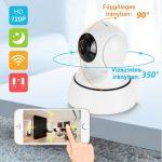Wifi-s SD kártyára rögzítő prémium biztonsági kamera