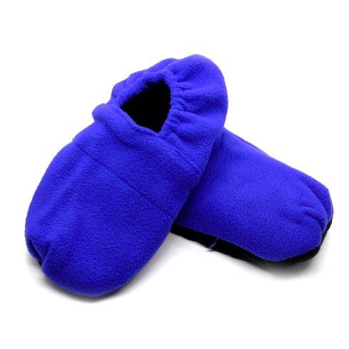 Warm hug feet mikrózható papucs, mamusz (Kék színben)