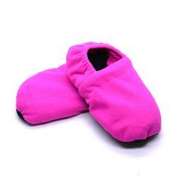 Warm hug feet mikrózható papucs, mamusz (Pink színben)