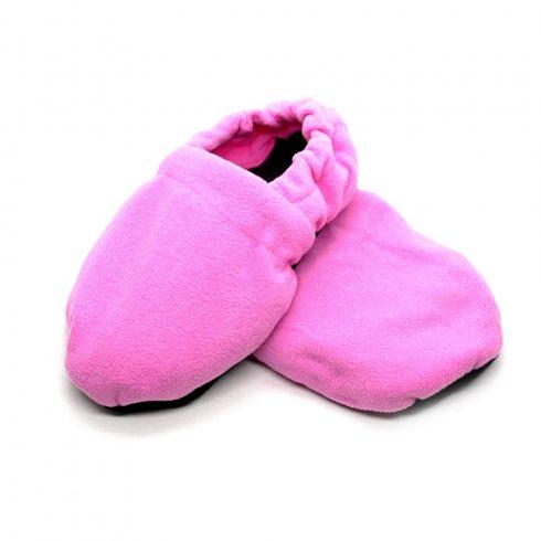Warm hug feet mikrózható papucs, mamusz (Rózsaszín színben)