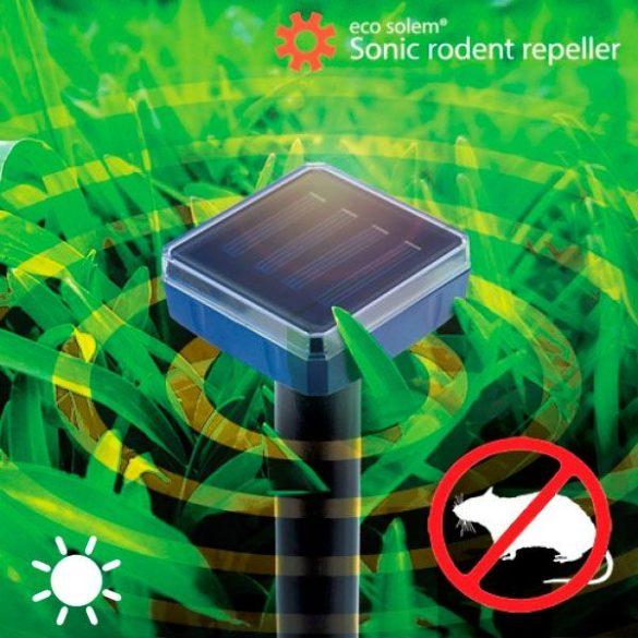 Eco Solem Napelemes vakond, egér, patkány, rágcsáló riasztó
