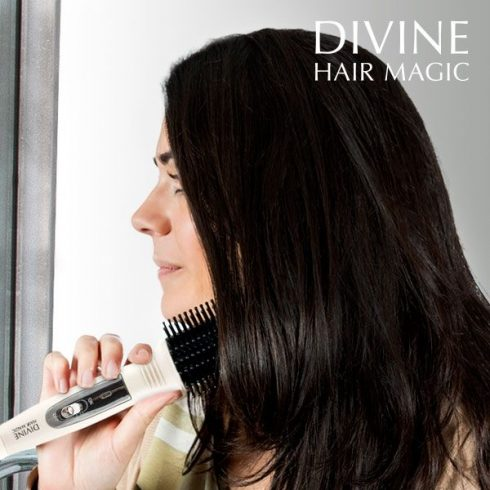 Divine Hair Magic Mágikus Hajkefe, melegíthető főnkefe