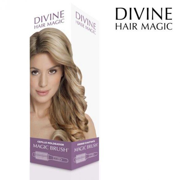 Divine Hair Magic Mágikus Hajkefe, melegíthető főnkefe
