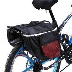 Dupla kerékpár táska