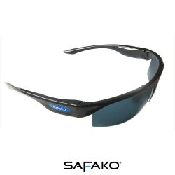 Safako SN05 okos napszemüveg (fényes fekete)