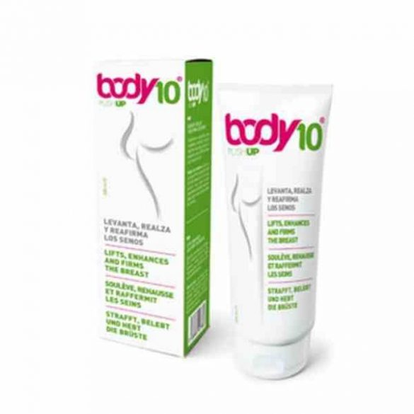 Body10 mellemelő krém 200 ml, mellfeszesítő krém
