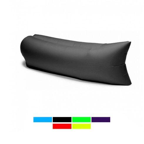 Lazy Bag pumpa nélkül felfújható matrac (Fekete)