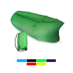 Lazy Bag pumpa nélkül felfújható matrac (Zöld)