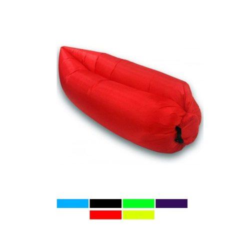 Lazy Bag pumpa nélkül felfújható matrac (piros)