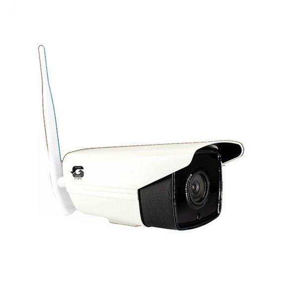 Professzionális kültéri Wifi-s IP kamera, SD kártyás rögzítéssel