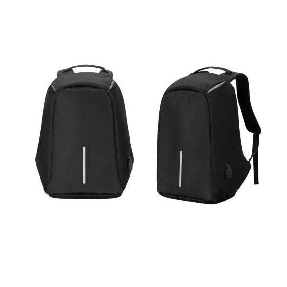 Lopásbiztos hátizsák (fekete)
