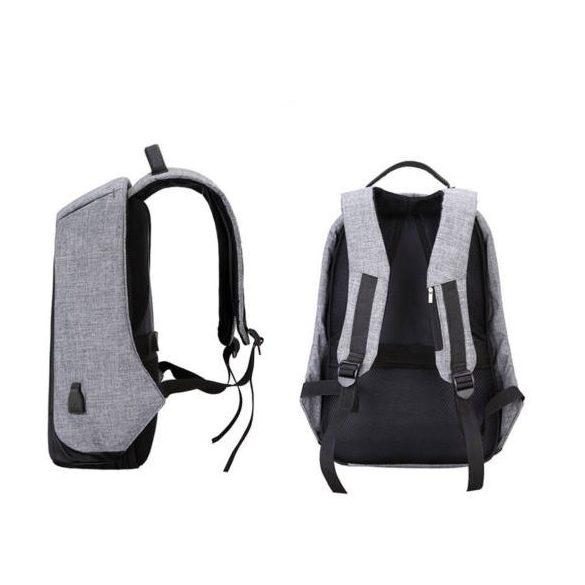 Lopásbiztos hátizsák (szürke)