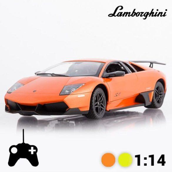 LAMBORGHINI MURCIÉLAGO LP670-4 SV távirányítós autó, 1:14 (Narancssárga)