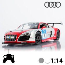 Audi R8 LMS távirányítós autó, szürke 1:14
