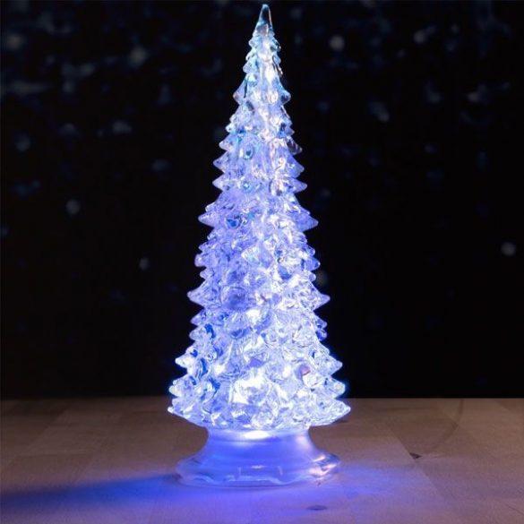 Mini Karácsonyfa LED világítással