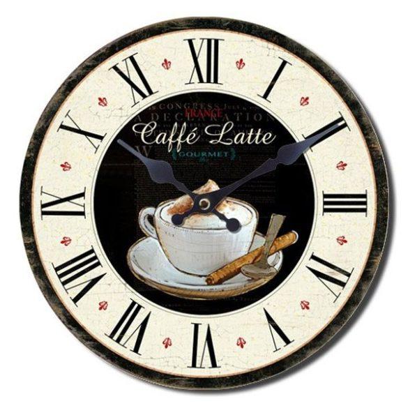 Coffee shop falióra - Caffé Latte - Készletkisöprés!