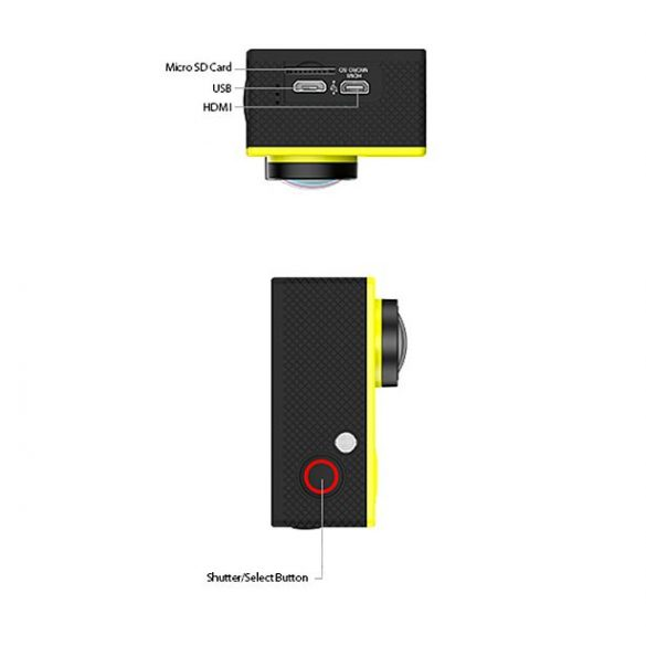Safako Akciókamera / Ultra HD (4K) felbontás + WIFI