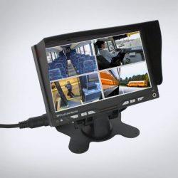 ABM monitor 4 bemenettel 12-24V (7'' 800x480)