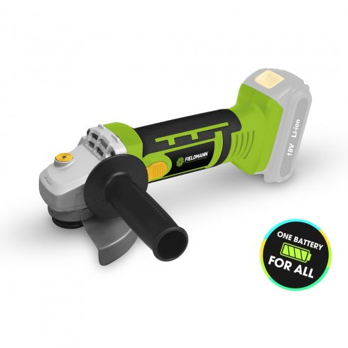 Akkumulátoros sarokcsiszoló 18 V (Akku és töltő nélkül)
