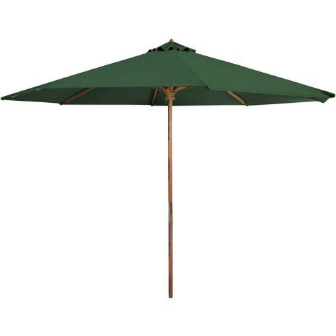 Favázas zöld színű napernyő