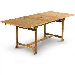 Kerti asztal 150/200 x 90 cm