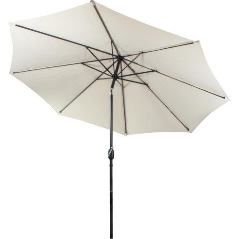Fémvázas krém színű napernyő