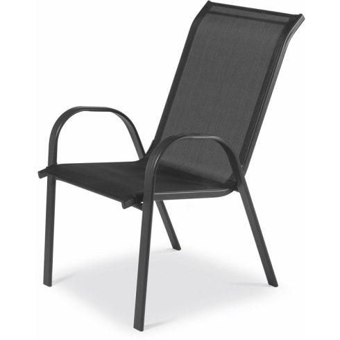Fémvázas, kerti szék