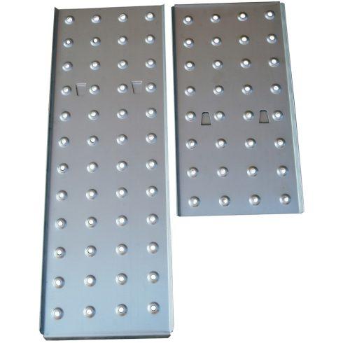 Taposó alumínium lemez 2 db