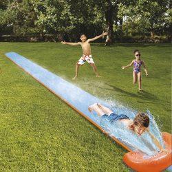 2 személyes 610 cm-es vizes csúszópálya gyerekeknek