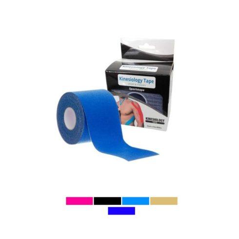Kineziológiai tapasz, kék, 5 cm x 5 m