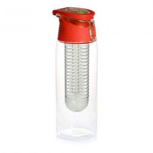 Diffúzoros kulacs, 800 ml, piros kupak