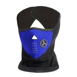 Arcvédő maszk légszűrővel, kék