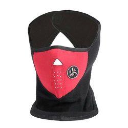 Arcvédő maszk légszűrővel, bordó
