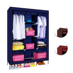 Mobil ruhás szekrény, kék